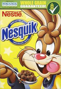 Nesquik UK box design