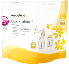 Medela Quick Clean Microwave Bags – пакеты для стерилизации
