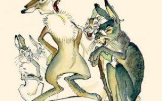 Про храброго зайца — длинные уши, косые глаза, короткий хвост