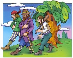 Разбойник и его сыновья