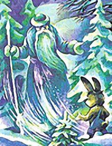 Мороз и заяц