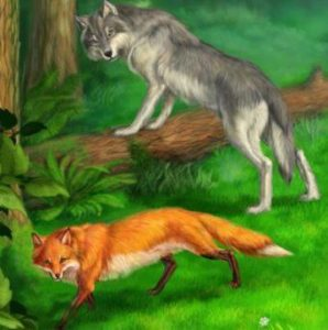 Как волк стал птичкой