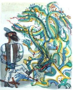 Змей и цыган
