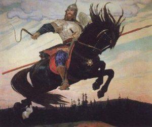 Бой Ильи Муромца с сыном