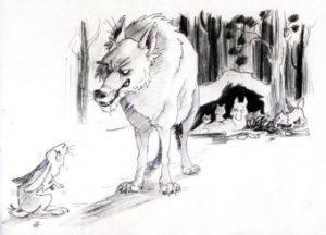 Самоотверженный заяц
